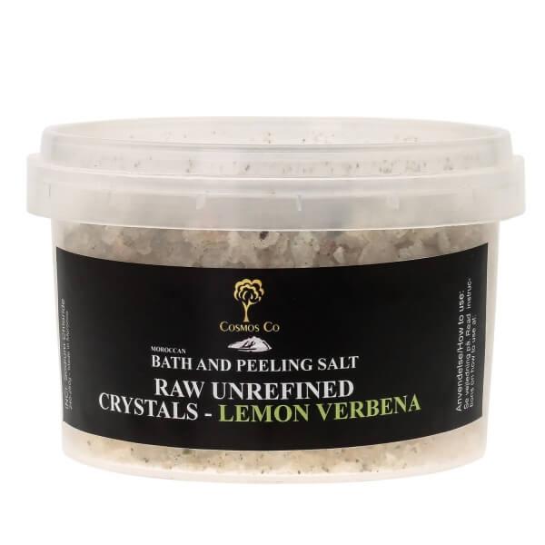 Salt til scrub - Lemon Verbena - arganolie