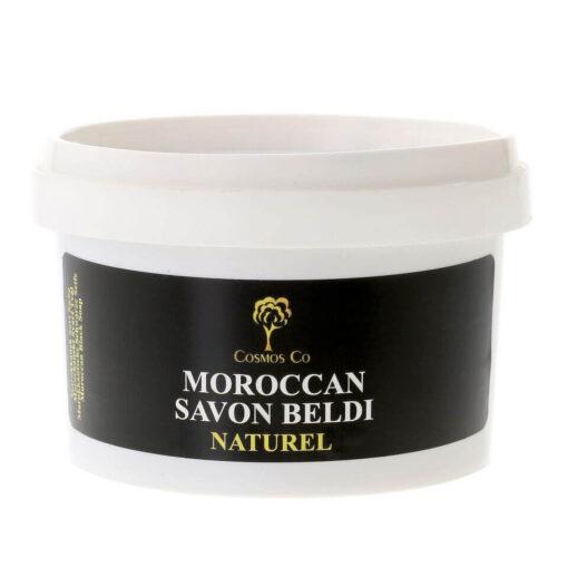 Sort sæbe natural - Savon Beldi - billig arganolier